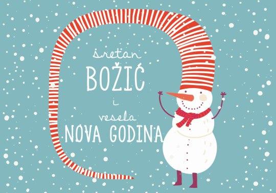Snjegović za vrata