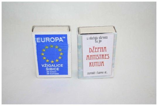 džepna anti stres kutija