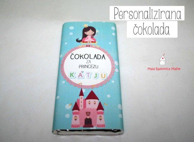 personalizirana cokolada