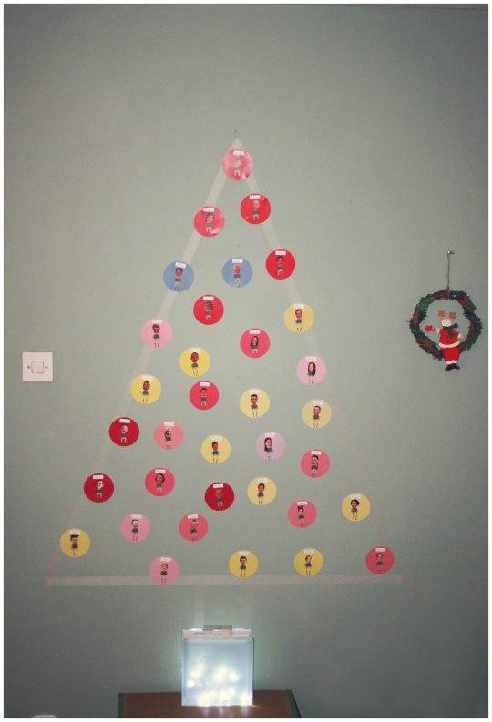 diy božićno drvce