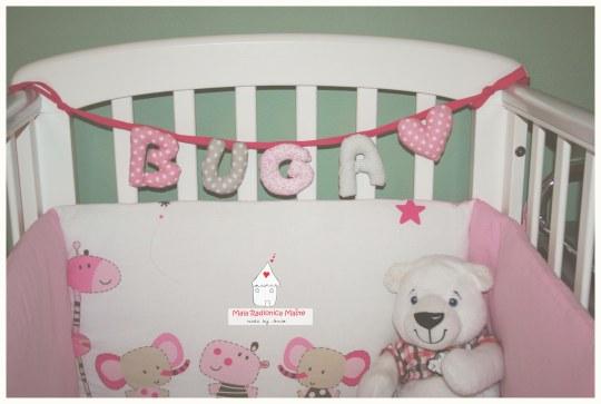 personalizirani natpis za krevetić