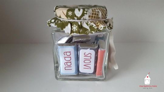 Mini čokoladice poklon