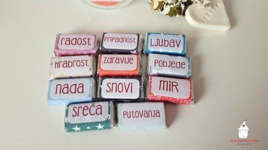 Male čokoladice za poklon