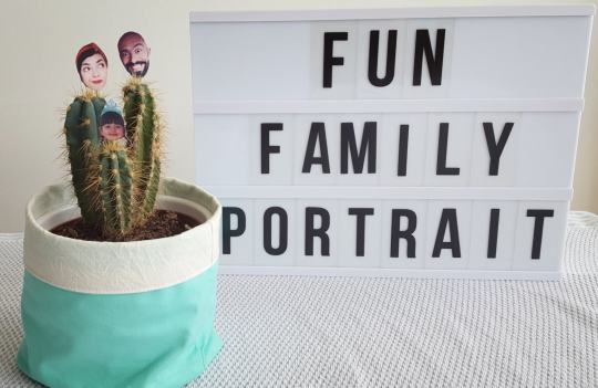 Fun Family Portrait DIY
