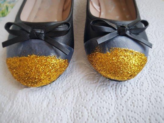 diy cipele sa šljokicama