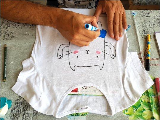 DIY majica s aplikacijom